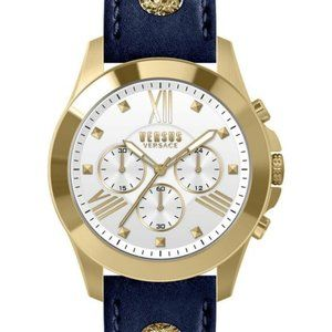 NIB Mens Versus Versace Chronograph Lion Watch